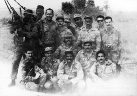 Cuban Platoon in Angola