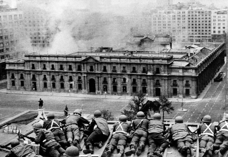 Neoliberalism- Allende Coup