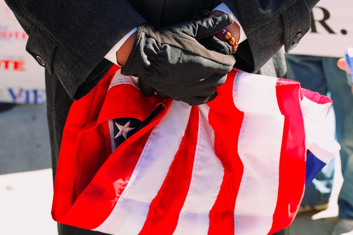 MLK Day Demonstrators Celebrate Memory of Civil RightsWarrior