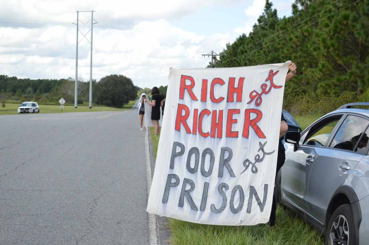 Nationwide prison strike makes final stop in North Florida
