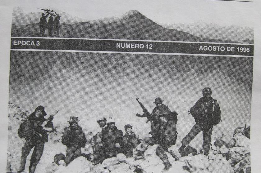 El militante TAjumulco foto